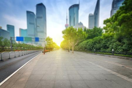 街のきれいな道