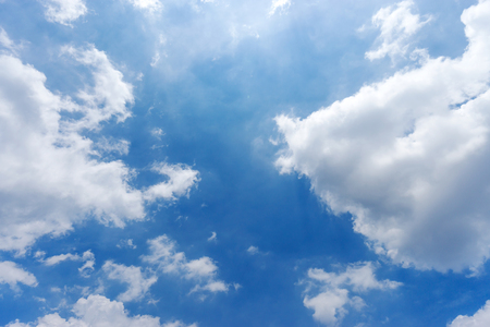 blue sky background with white clouds