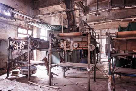 Old abandoned factory 版權商用圖片