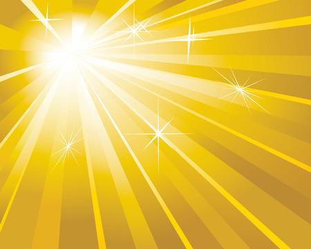 shine golden background