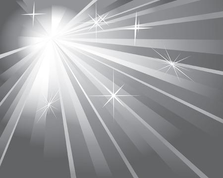 shine silver background Stock Vector - 6367027