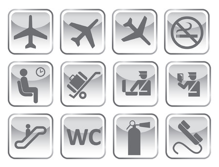 airport symbol Vector