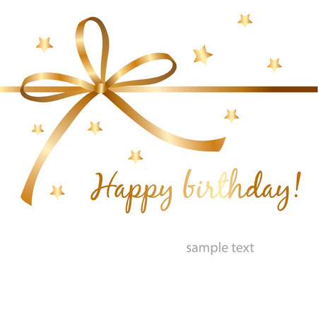 beautiful birthday card  Stock Vector - 7485985