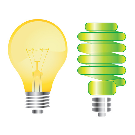light bulbs  Stock Vector - 7485988