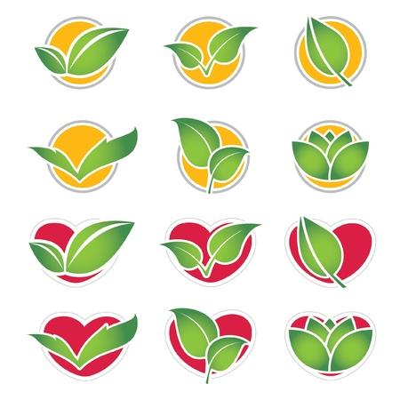 set of eco symbol Illustration