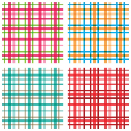 checkered scarf: Plaid patterns