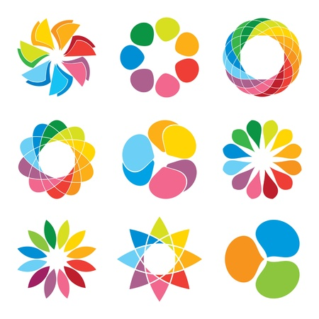 medische kunst: icon design elementen Stock Illustratie