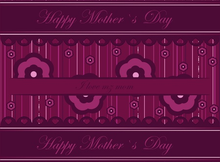 mothers day wish card Stock Vector - 12802030