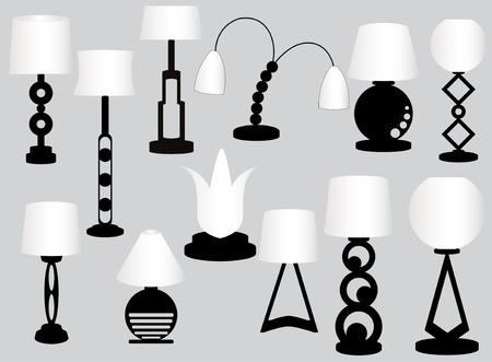 lamps Vector