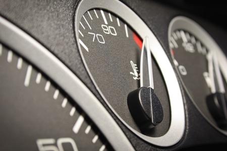 Car dashboard photo