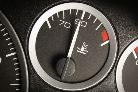 accelerating: Car dashboard