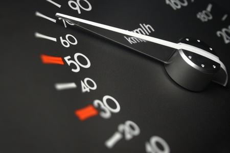 Car dashboard dials photo
