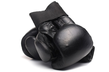 Old boxing glove photo