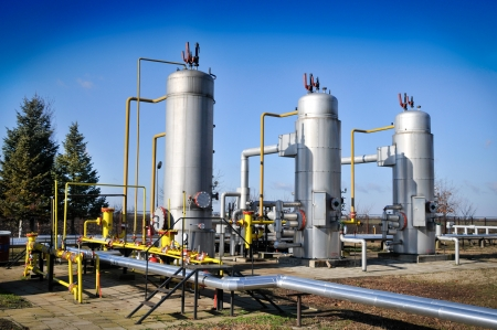 Oil industry,oil separators Stock Photo - 12035583