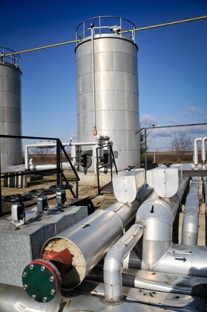 Oil industry,oil tanks