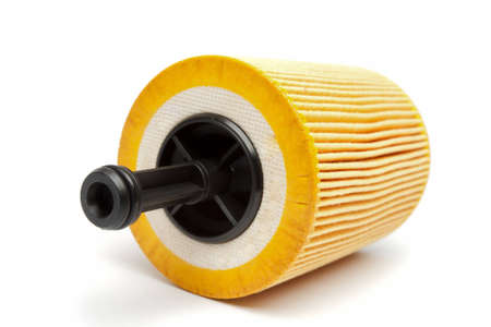 lubricate: Filters for car isolated on a white background