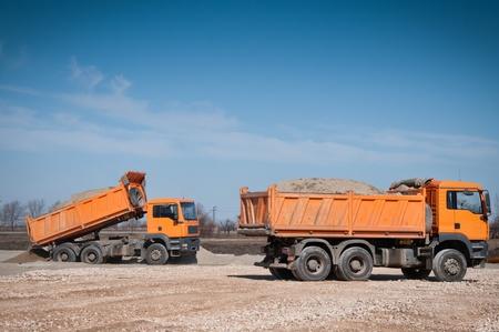 Dump Truck Stock Photo - 12843903