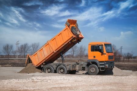 Dump Truck Stock Photo - 12843907