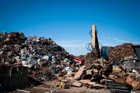 junkyard: Reciclaje de metales