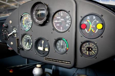 Airplane Cockpit photo