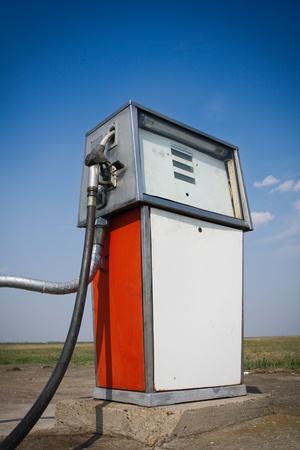 Old fuel pump photo