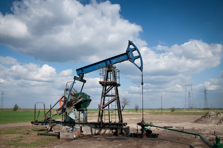 extraction: Oil pump jack