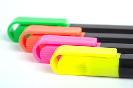 Color markers photo