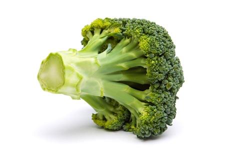 Broccoli isolated on white background photo