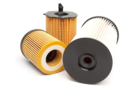spare car: Car filters Stock Photo