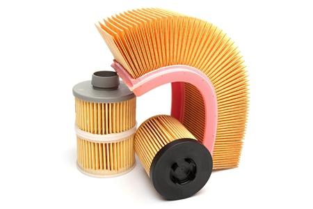 Car filters Standard-Bild