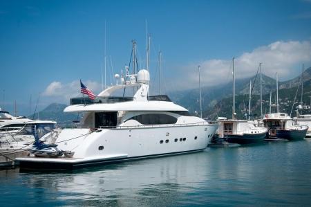 super yacht: Large luxury yacht