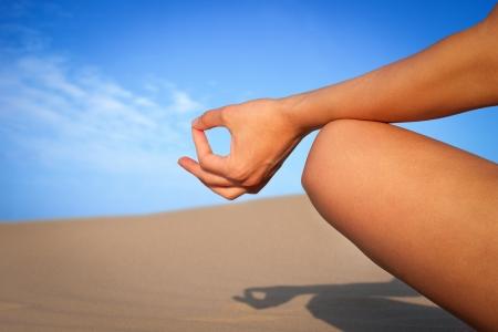 Meditation close up