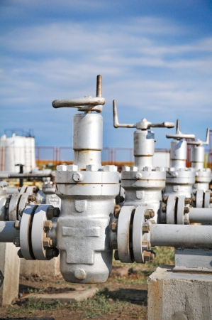 Industries of oil refining and gas Stock Photo - 15031419
