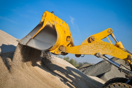 Bulldozer on the job photo