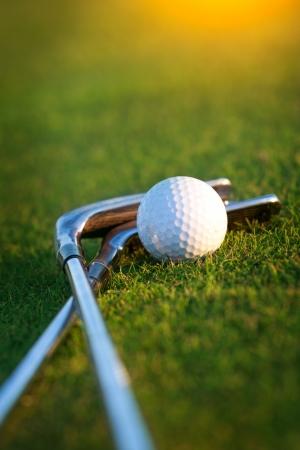 Sprzęt golfowy Zdjęcie Seryjne