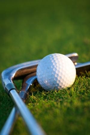Golf equipment 免版税图像 - 15921301