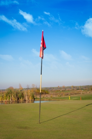 Flag of golf photo