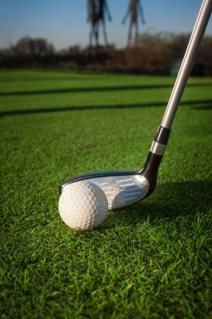 Golf equipment 免版税图像 - 16008181