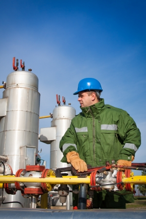 maintaining: Gas Production Operator