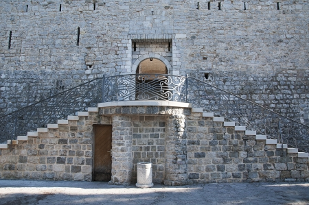 medieval fortress  photo