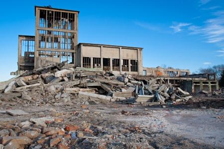 Verwoeste gebouwen