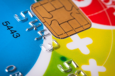 Credit card close up Stock Photo - 18707554