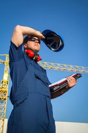 Shipyard worker photo