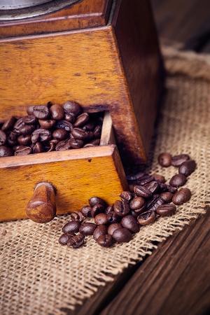 kitchen scraps: old coffee mill