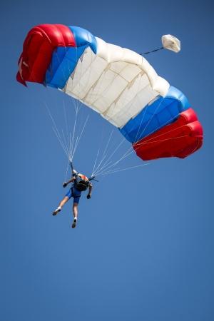 parachutist Фото со стока - 21028920