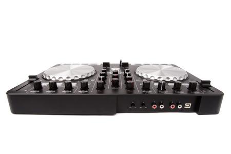 dj mixer: DJ mixer Stock Photo