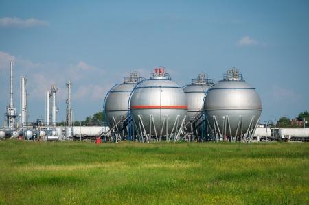 Olie en gas verwerkingsbedrijf