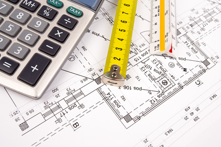 architectural plans Stock Photo - 22520836