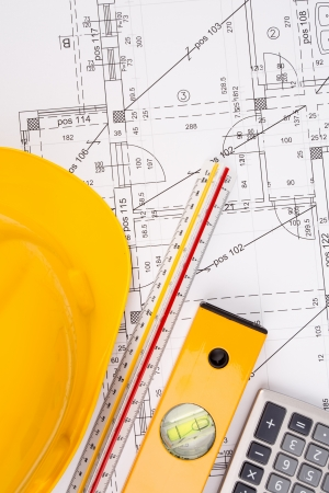 architectural plans Stock Photo - 22520720