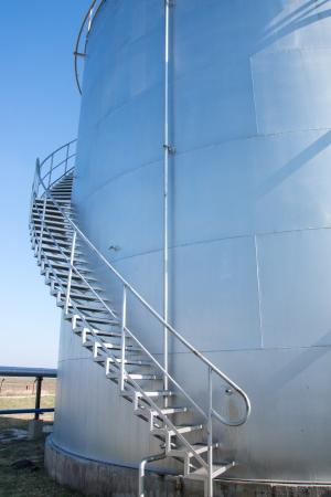 Oil storage tanks  photo